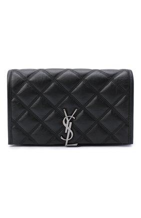 Женская сумка angie mini SAINT LAURENT черного цвета, арт. 585031/1UQ23 | Фото 1