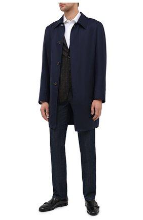 Мужские кожаные монки SANTONI черного цвета, арт. MCNC16848SI1ESCSN01 | Фото 2
