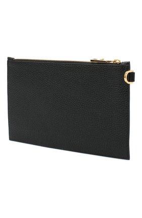 Мужская кожаный футляр для документов VERSACE черного цвета, арт. DP84725/DVTG4M | Фото 2