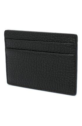 Мужской кожаный футляр для кредитных карт VERSACE черного цвета, арт. DPN2467/DVTG4M | Фото 2