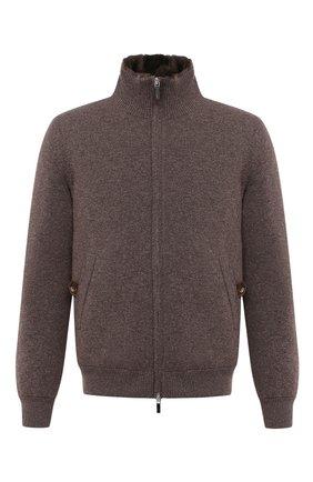 Мужская кашемировая куртка с меховой подкладкой SVEVO темно-бежевого цвета, арт. 0140SA20/MP01/2 | Фото 1