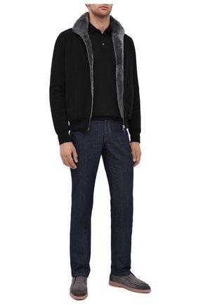 Мужская кашемировая куртка с меховой подкладкой SVEVO черного цвета, арт. 0140SA20/MP01/2 | Фото 2