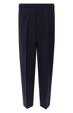 Мужской шерстяные брюки JIL SANDER темно-синего цвета, арт. JSMR311301-MR202500 | Фото 1