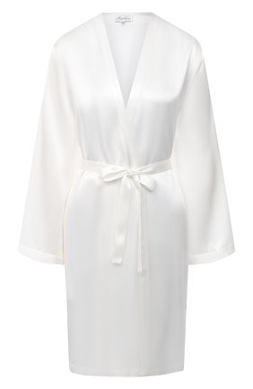 Женский халат MARJOLAINE белого цвета, арт. Laser | Фото 1