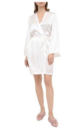 Женский халат MARJOLAINE белого цвета, арт. Laser | Фото 2