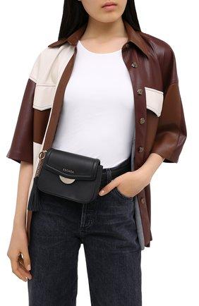 Женская поясная сумка ESCADA SPORT черного цвета, арт. 5033959 | Фото 2