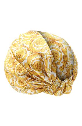 Женский шелковый тюрбан VERSACE разноцветного цвета, арт. IFAS004/A236118 | Фото 2