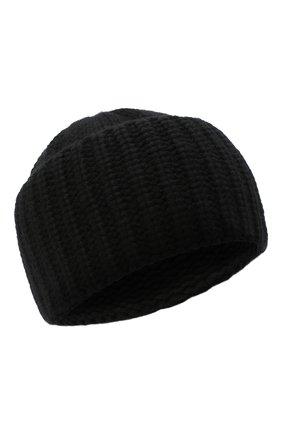 Женский кашемировая шапка SAINT LAURENT черного цвета, арт. 629100/3Y205 | Фото 1