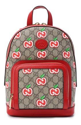 Женский рюкзак pomme gg GUCCI красного цвета, арт. 601296/2EVCG | Фото 1