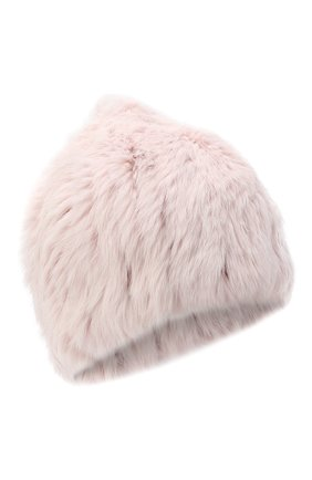 Женский меховая шапка YVES SALOMON розового цвета, арт. Y4854XXKLLUN | Фото 1