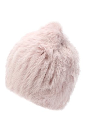 Женский меховая шапка YVES SALOMON розового цвета, арт. Y4854XXKLLUN | Фото 2