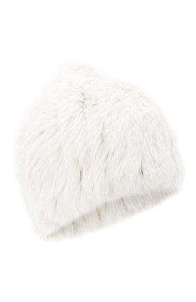 Женский меховая шапка YVES SALOMON белого цвета, арт. Y4854XXKLLUN | Фото 1