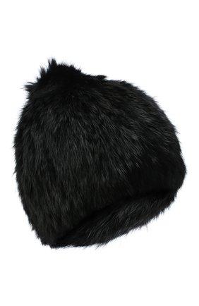 Женский меховая шапка YVES SALOMON черного цвета, арт. Y4854XXKLLUN | Фото 1