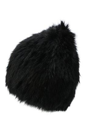 Женский меховая шапка YVES SALOMON черного цвета, арт. Y4854XXKLLUN | Фото 2