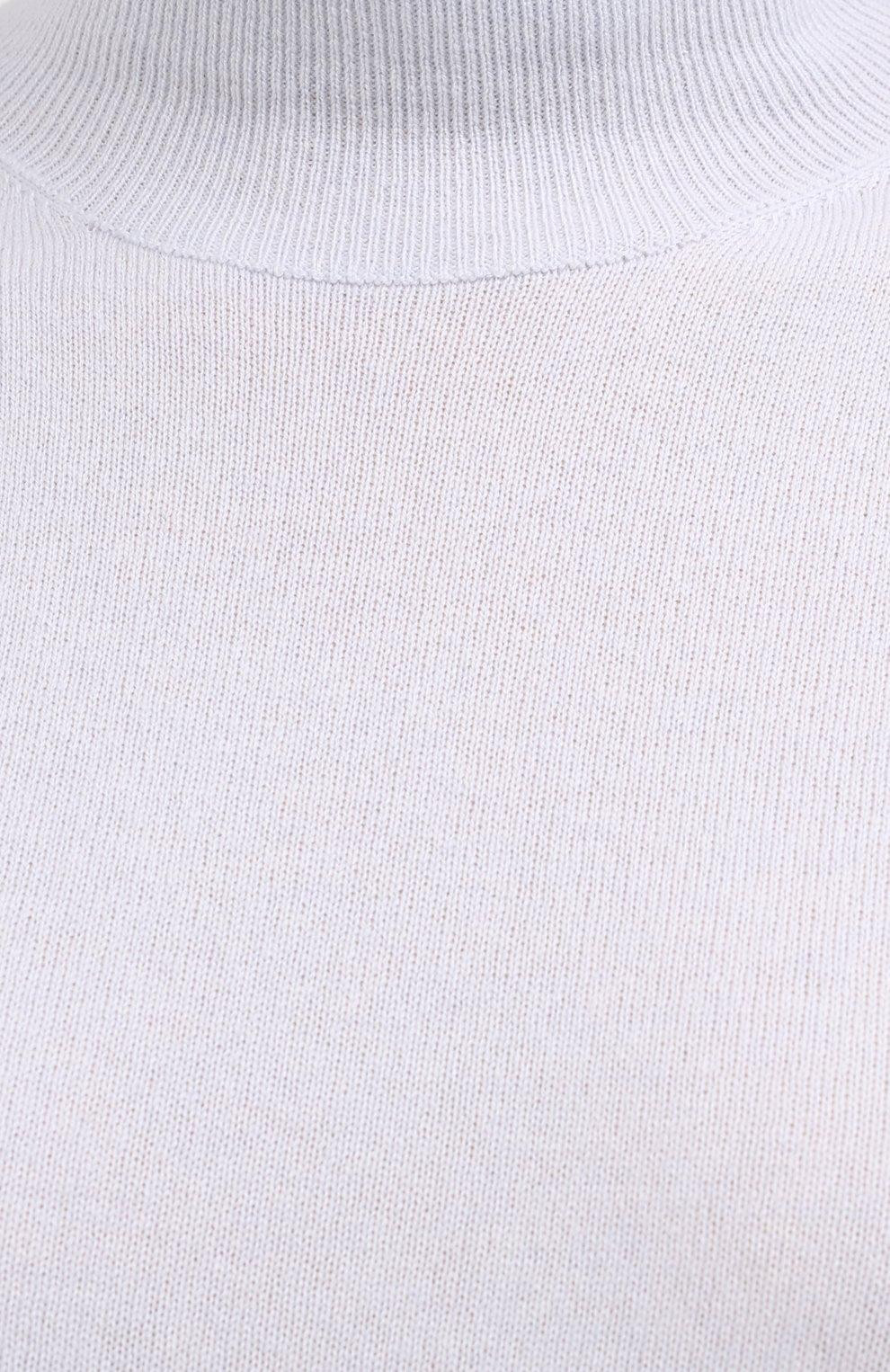 Женская кашемировая водолазка JIL SANDER голубого цвета, арт. JSPR754013-WRY10008 | Фото 5