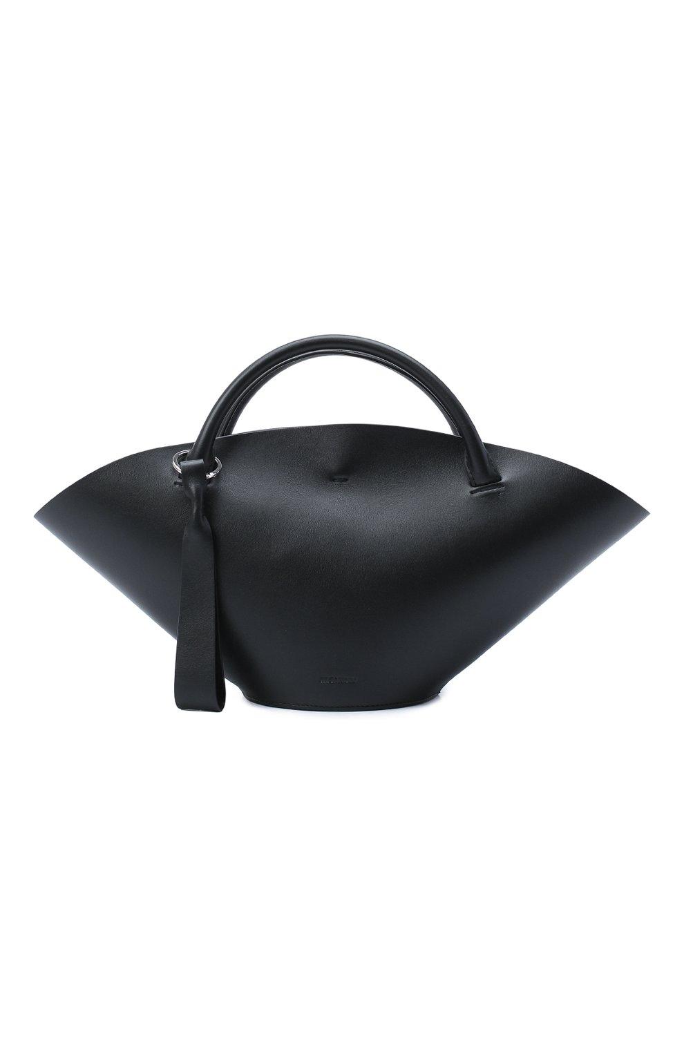 Женский сумка sombrero JIL SANDER черного цвета, арт. JSPR851428-WRB69139V   Фото 1