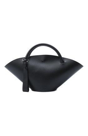 Женский сумка sombrero JIL SANDER черного цвета, арт. JSPR851428-WRB69139V | Фото 1