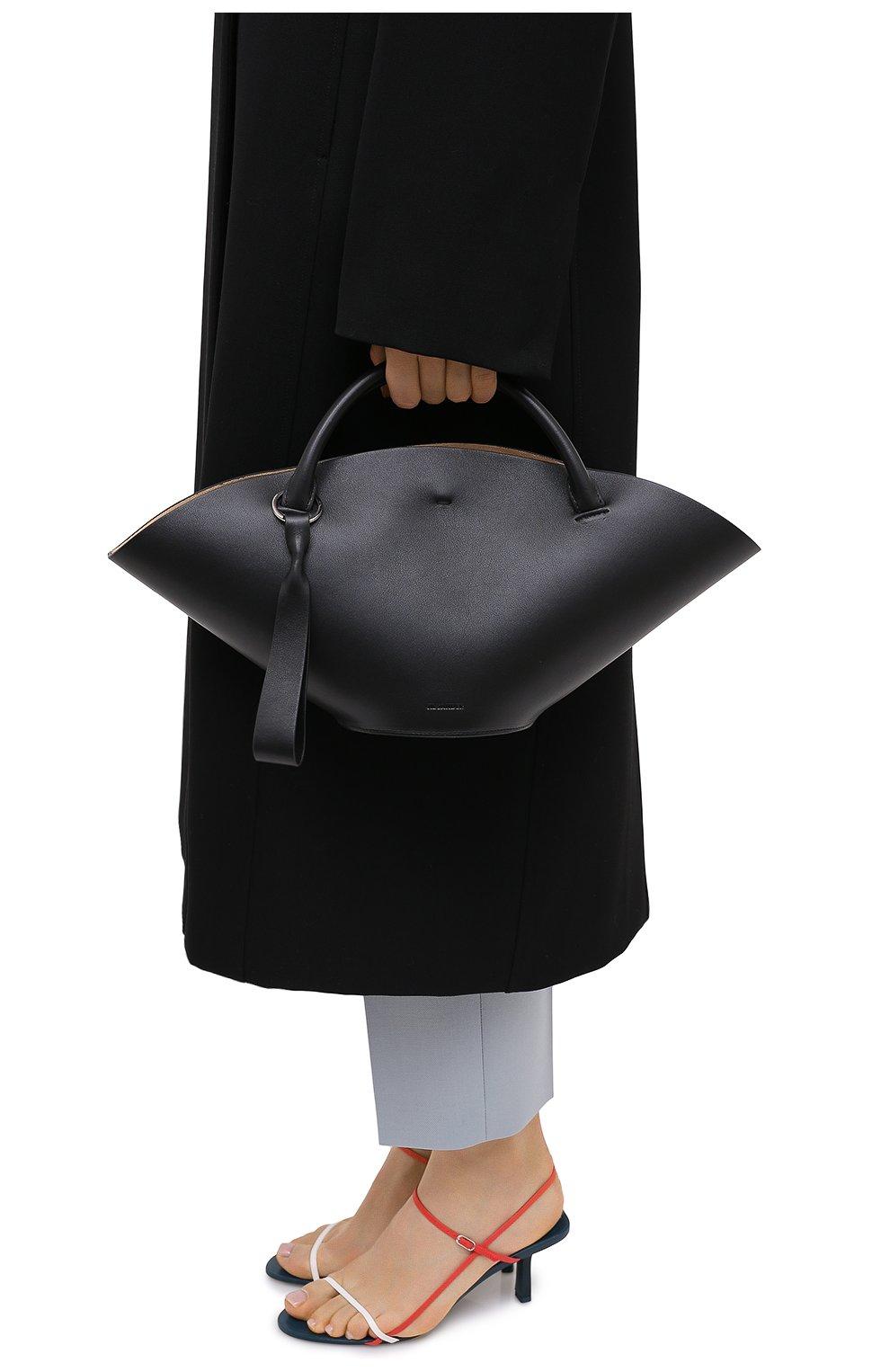 Женский сумка sombrero JIL SANDER черного цвета, арт. JSPR851428-WRB69139V | Фото 2