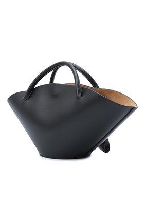 Женский сумка sombrero JIL SANDER черного цвета, арт. JSPR851428-WRB69139V | Фото 3