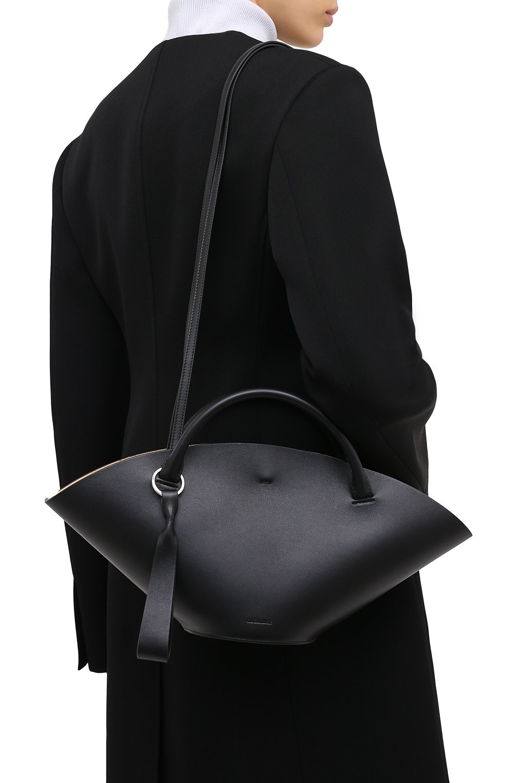 Женский сумка sombrero JIL SANDER черного цвета, арт. JSPR851428-WRB69139V   Фото 5