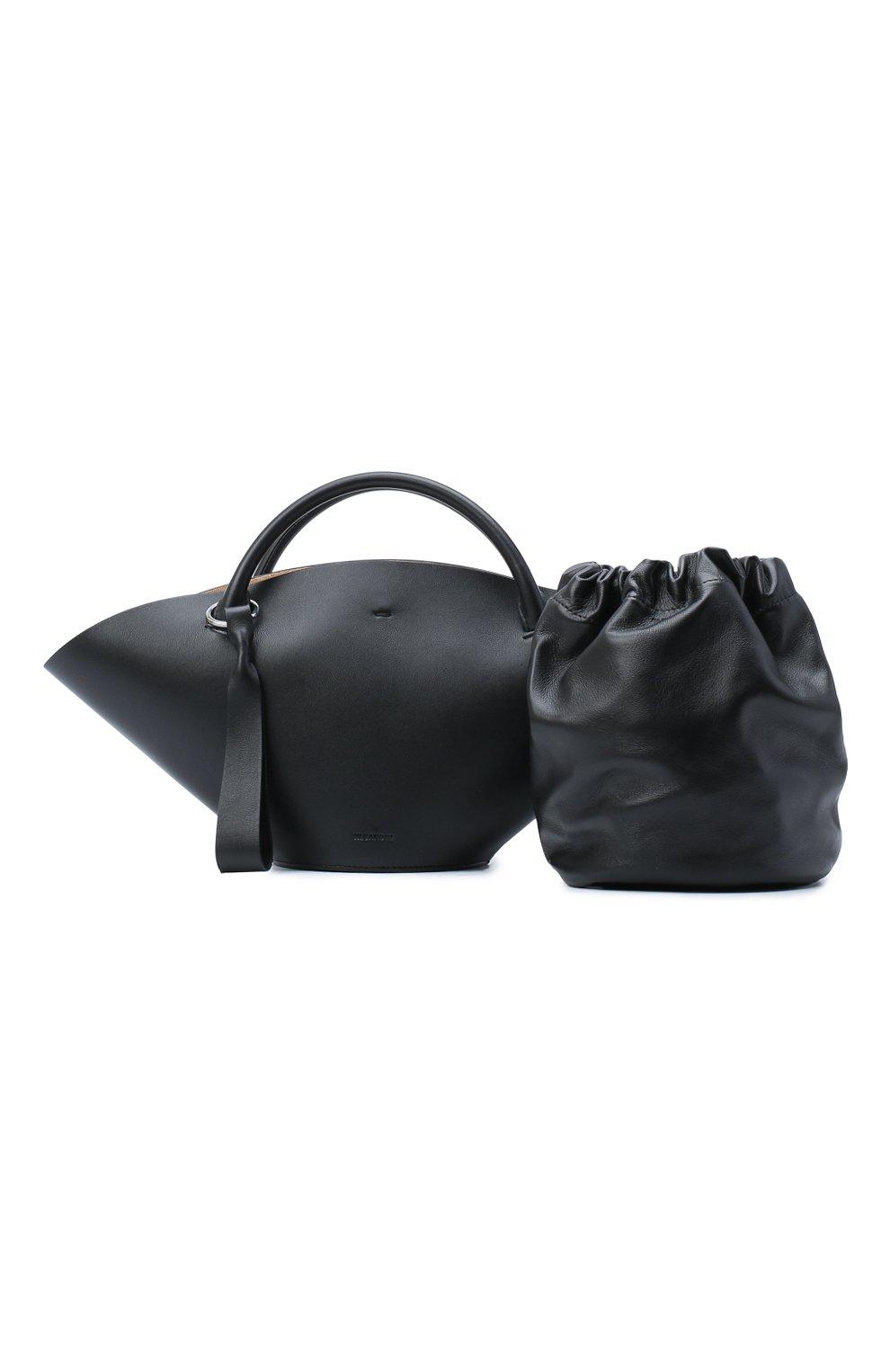 Женский сумка sombrero JIL SANDER черного цвета, арт. JSPR851428-WRB69139V | Фото 7