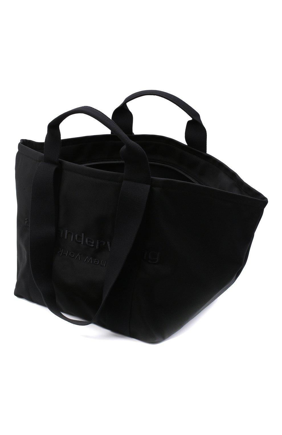 Женский сумка-тоут primal large ALEXANDER WANG черного цвета, арт. 20C220T105   Фото 4