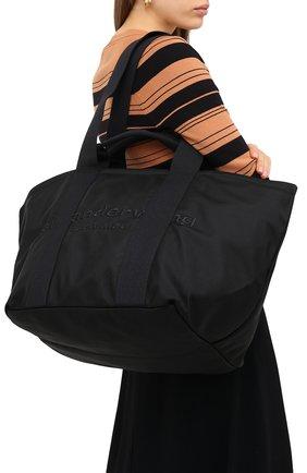 Женский сумка-тоут primal large ALEXANDER WANG черного цвета, арт. 20C220T105   Фото 5