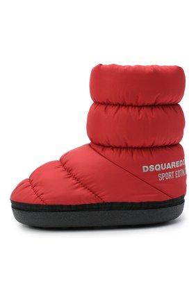Детские сапоги DSQUARED2 красного цвета, арт. 64929/PIUMIN0 IDR0/18-27 | Фото 2