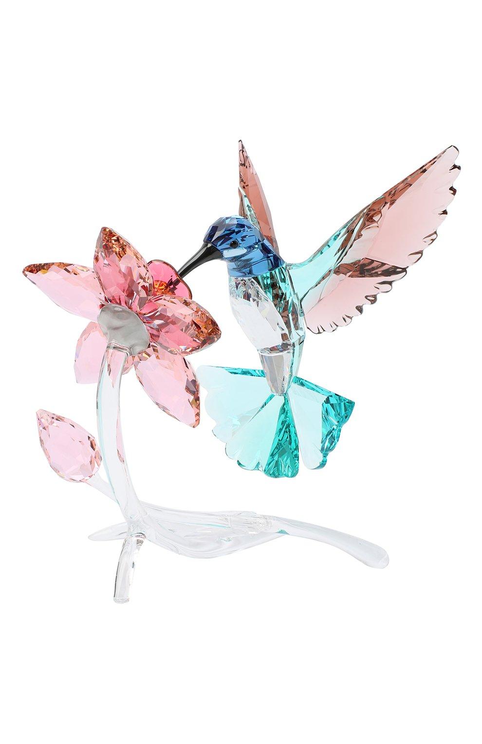 Мужского фигурка hummingbird SWAROVSKI разноцветного цвета, арт. 5461872 | Фото 1