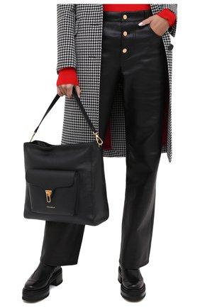 Женская сумка beat soft COCCINELLE черного цвета, арт. E1 GF6 13 01 01 | Фото 2