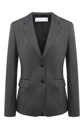 Женский шерстяной жакет BOSS черно-белого цвета, арт. 50440240 | Фото 1