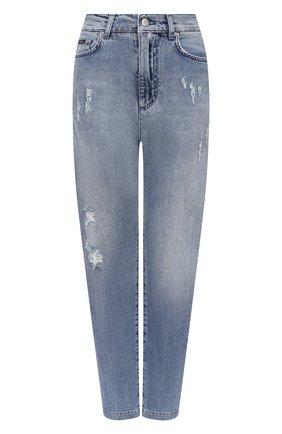 Женские джинсы DOLCE & GABBANA голубого цвета, арт. FTBYLD/G8CT4 | Фото 1