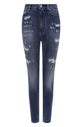 Женские джинсы DOLCE & GABBANA голубого цвета, арт. FTBXHD/G8CS4 | Фото 1