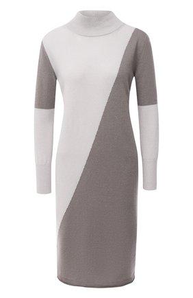 Женское кашемировое платье LORENA ANTONIAZZI бежевого цвета, арт. A20117AM003/117 | Фото 1