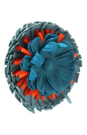 Женские украшение для сумки LOEWE синего цвета, арт. N691160X03 | Фото 2