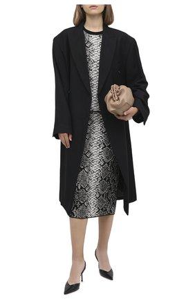 Женский топ из вискозы ESCADA SPORT серого цвета, арт. 5033321 | Фото 2