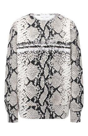 Женский хлопковый свитшот ESCADA SPORT серого цвета, арт. 5033332 | Фото 1