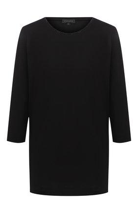 Женский хлопковый топ ESCADA черного цвета, арт. 5033411 | Фото 1