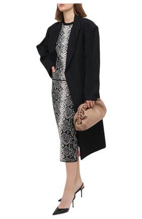 Женская юбка из вискозы ESCADA SPORT серого цвета, арт. 5033452 | Фото 2
