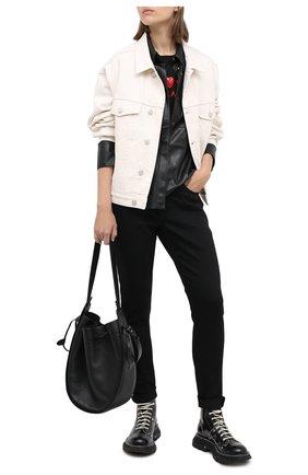 Женские джинсы ESCADA SPORT черного цвета, арт. 5033923 | Фото 2