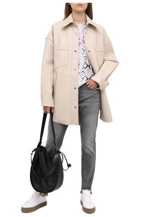 Женские джинсы ESCADA SPORT серого цвета, арт. 5033944 | Фото 2