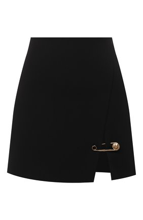 Женская юбка из вискозы VERSACE черного цвета, арт. A83920/A208429 | Фото 1