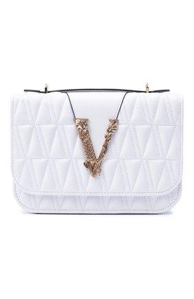 Женская сумка virtus VERSACE белого цвета, арт. DBFG985/DNATR4 | Фото 1