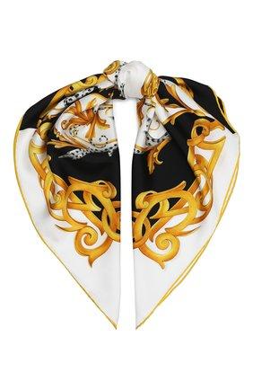 Женский шелковый платок VERSACE разноцветного цвета, арт. IF07001/A236212 | Фото 1