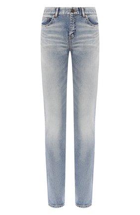 Женские джинсы SAINT LAURENT синего цвета, арт. 614447/Y507X | Фото 1
