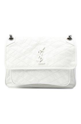Женская сумка niki medium SAINT LAURENT белого цвета, арт. 498894/0EN04 | Фото 1