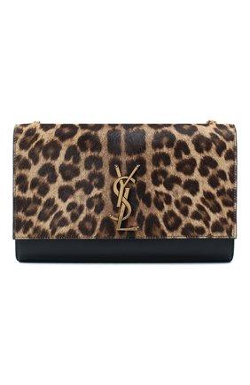 Женская сумка kate SAINT LAURENT леопардового цвета, арт. 364021/1ZR2W | Фото 1
