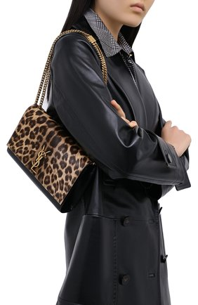 Женская сумка kate SAINT LAURENT леопардового цвета, арт. 364021/1ZR2W | Фото 2