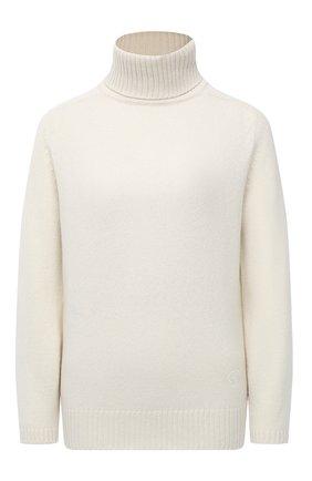 Женский кашемировый свитер GUCCI белого цвета, арт. 628409/XKBB2 | Фото 1