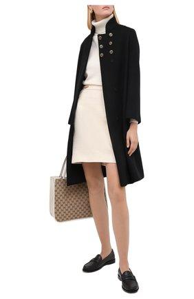 Женский кашемировый свитер GUCCI белого цвета, арт. 628409/XKBB2 | Фото 2